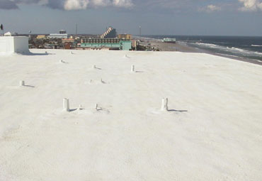 cool roof coatings in